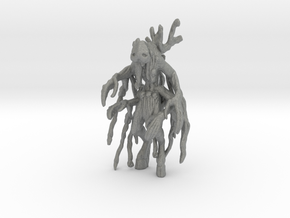 Voodoo Forest Spirit miniature model DnD games rpg in Gray PA12