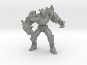 Ice Elemental miniature model fantasy DnD game rpg in Gray PA12