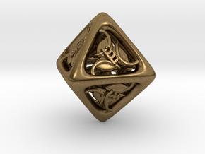 Tengwar Elvish D8 in Natural Bronze