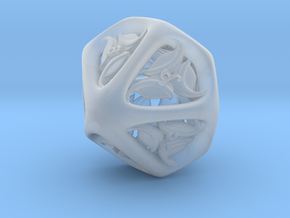 Tengwar Elvish D10 (Numbered 1-10) in Smooth Fine Detail Plastic