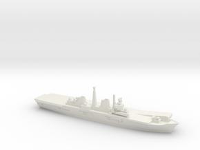 HMS Invincible R05 (Falklands War), 1/1250 in White Natural Versatile Plastic