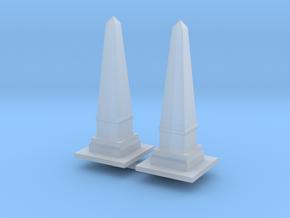 Obelisk Monument (x2) 1/200 in Smooth Fine Detail Plastic