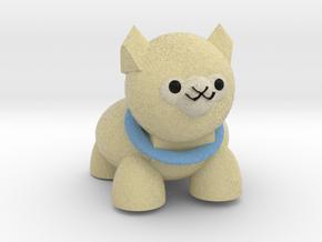 Alpaca in Full Color Sandstone