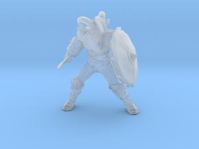 Ram Gladiator miniature model fantasy dnd rpg game in Smooth Fine Detail Plastic