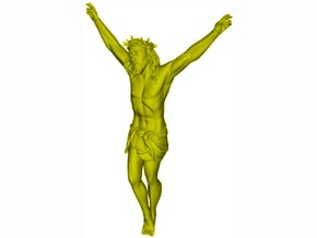 1/35 scale Jesus Christ crucified - WITHOUT cross in Smooth Fine Detail Plastic