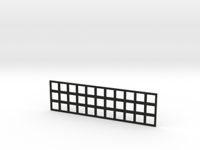 Population Tray in Black Natural Versatile Plastic