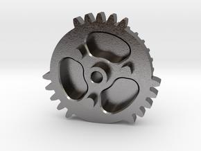 Triple Sector Gear TSG in Polished Nickel Steel