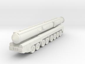 RT-2PM2 Topol-M ICBM 1/144 in White Natural Versatile Plastic