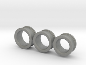 03-2-1 sized Finger-Rings in Gray PA12