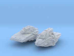 Kago-Darr's Shuttle 1/1000 Attack Wing x2 in Smooth Fine Detail Plastic