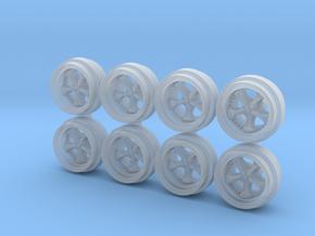 Work VSKF 85-0 Hot Wheels Rims in Smooth Fine Detail Plastic
