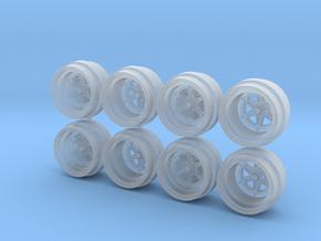Star Formula 8-5 Hot Wheels Rims in Smooth Fine Detail Plastic