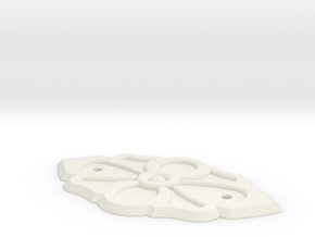 Trunk ornament in White Natural Versatile Plastic