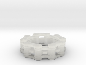 Bicycle Chain Ring 6.5mm in Smooth Fine Detail Plastic