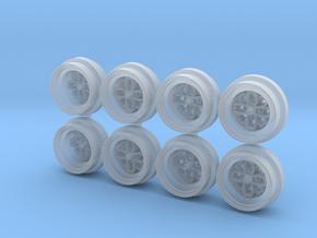 Hayashi Yayoi 8-0 JH2 Hot Wheels Rims in Smooth Fine Detail Plastic