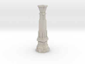100mm Dwarven Pillar in Natural Sandstone