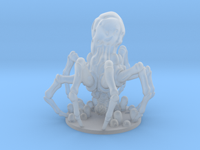 Knobby White Spider in Smooth Fine Detail Plastic