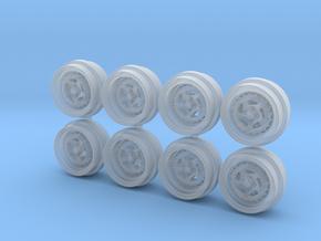 SSR Aero 8.5-5 Hot Wheels Rims in Smooth Fine Detail Plastic