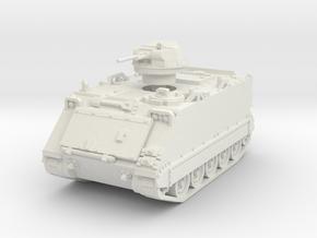 M113A1 T-50 1/72 in White Natural Versatile Plastic