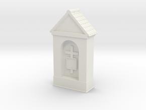 Small Chapel 1/56 in White Natural Versatile Plastic