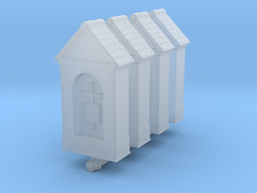 Small Chapel (x4) 1/200 in Smooth Fine Detail Plastic