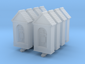 Small Chapel (x8) 1/285 in Smooth Fine Detail Plastic