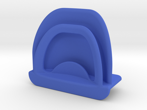 Page holder for the top of the monitor in Blue Processed Versatile Plastic