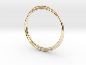 Infinity Bracelet in 14K Yellow Gold
