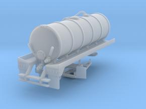 1/87th 20' Liquid Manure fertilizer tanker trailer in Smooth Fine Detail Plastic