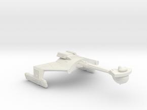 3125 Scale Klingon D6DK Refitted Drone Cruiser WEM in White Natural Versatile Plastic