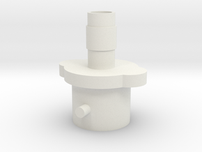 Air Pump Adapter in White Strong & Flexible