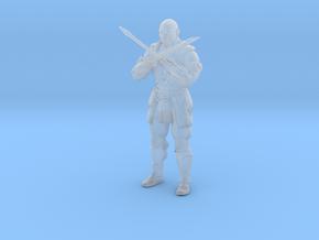 Mortal Kombat Baraka DnD miniature for games rpg in Smooth Fine Detail Plastic