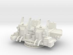 1/6 USN 40mm Quad Bofors Mount v2 in White Natural Versatile Plastic