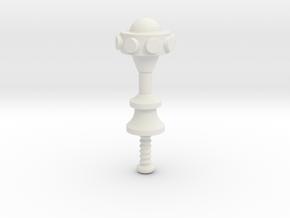 Man-at-arms mace motuc in White Natural Versatile Plastic
