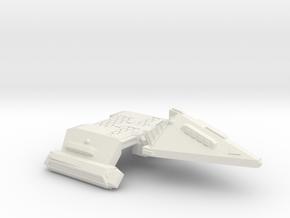 3788 Scale Neo-Tholian X-Ship Frigate (NFX) SRZ in White Natural Versatile Plastic