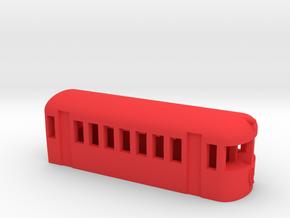 Australian Class 2000 Railmotor in Red Processed Versatile Plastic