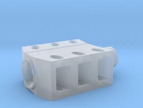 muzzle brake  5 in Smoothest Fine Detail Plastic