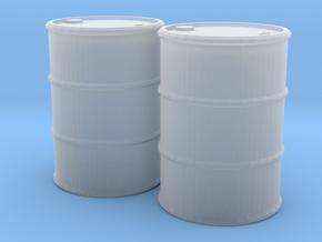 1/35 metal liquid barrels (no bottom) in Smooth Fine Detail Plastic