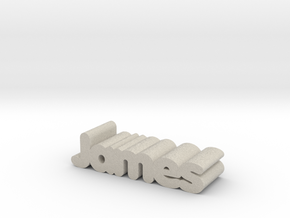 James in Natural Sandstone