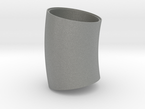 Penticton Foundry Elbow 1 liner bend - center in Gray PA12