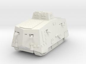 A7V 501 female Tank 1/100 in White Natural Versatile Plastic