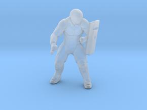 Riot Enforcer cyberpunk miniature model games rpg in Smooth Fine Detail Plastic