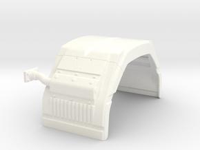 Scania 143 Rear fender in White Processed Versatile Plastic