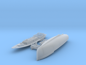 1/200 Royal Navy 50ft Steam Pinnace x1 in Smoothest Fine Detail Plastic