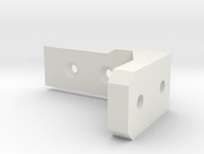 Sensor Bracket in White Natural Versatile Plastic
