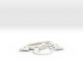 Lictor Left in White Natural Versatile Plastic