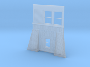 06 West Pana Tower Wall in Smooth Fine Detail Plastic