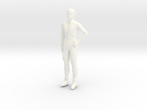 Lost in Space - Dr Smith - Silver Suit 1.24  in White Processed Versatile Plastic