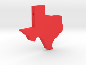 Texas in Red Strong & Flexible Polished