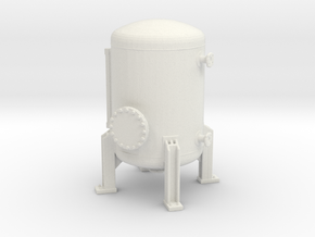 Autoclave Pressure Tank 1/76 in White Natural Versatile Plastic